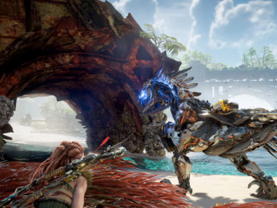 Horizon Forbidden West, Guerrilla Games, PlayStation 5, gameplay, paraglider, state of play