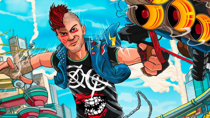 Sunset Overdrive, Xbox, PlayStation, trademark, Sony, Insomniac Games, Sunset Overdrive 2