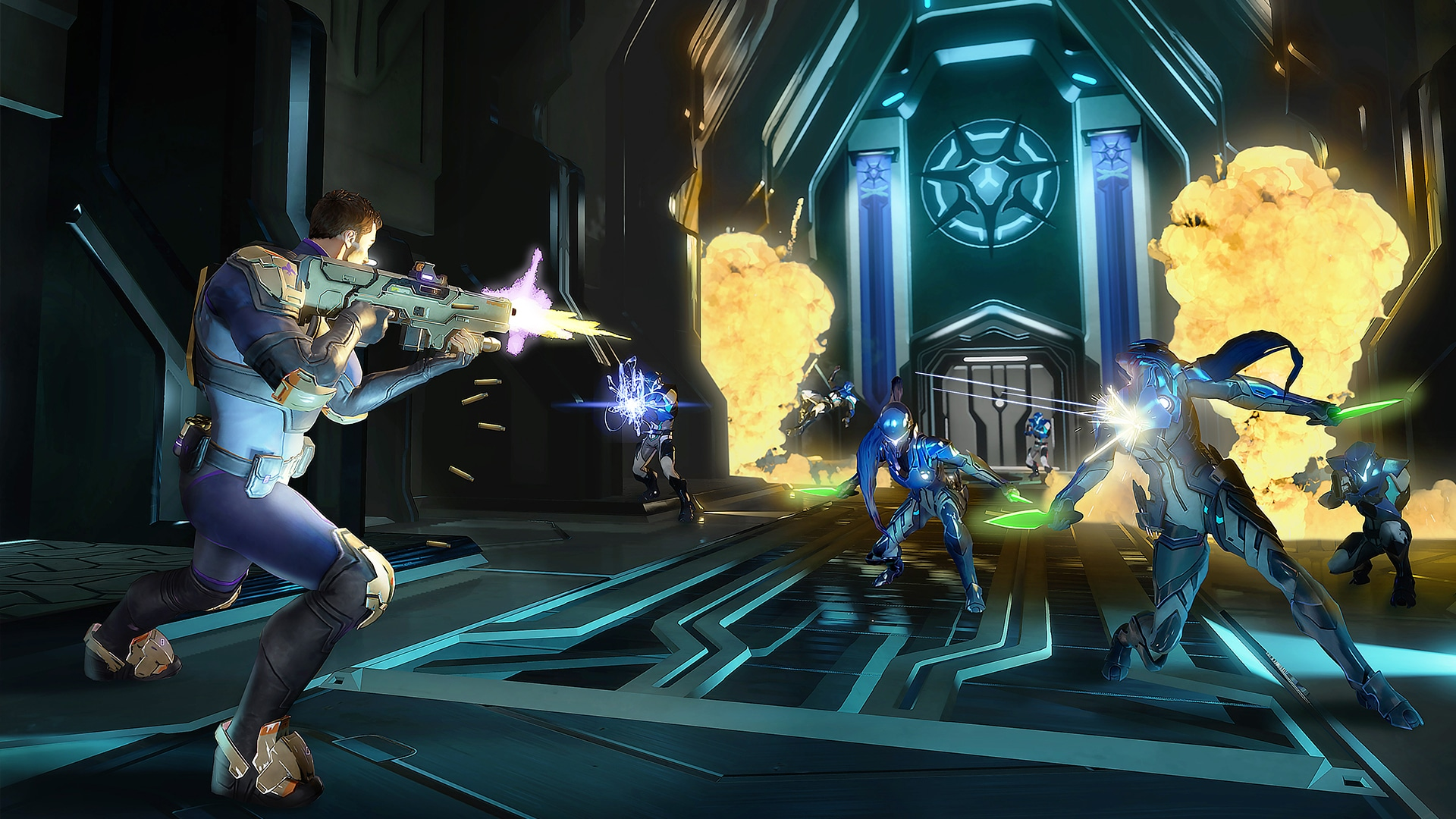 Agents of Mayhem Volition Deep Silver three competing games that do not fit together: Overwatch, Saints Row, Diablo