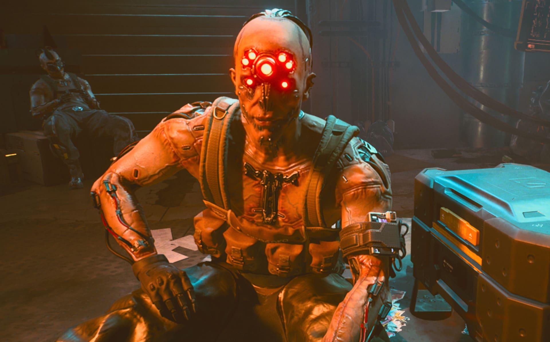 Cyberpunk 2077 transhumanism cyber surgery body augmentation enhancement cyberpsychosis no spider legs Darth Maul from CD Projekt Red CDPR