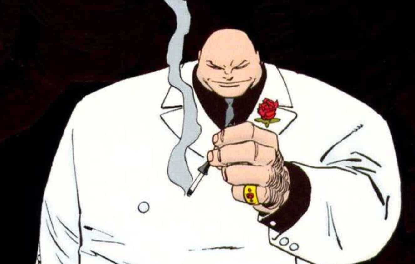 Marvel Comics Spider-Man Daredevil Kingpin