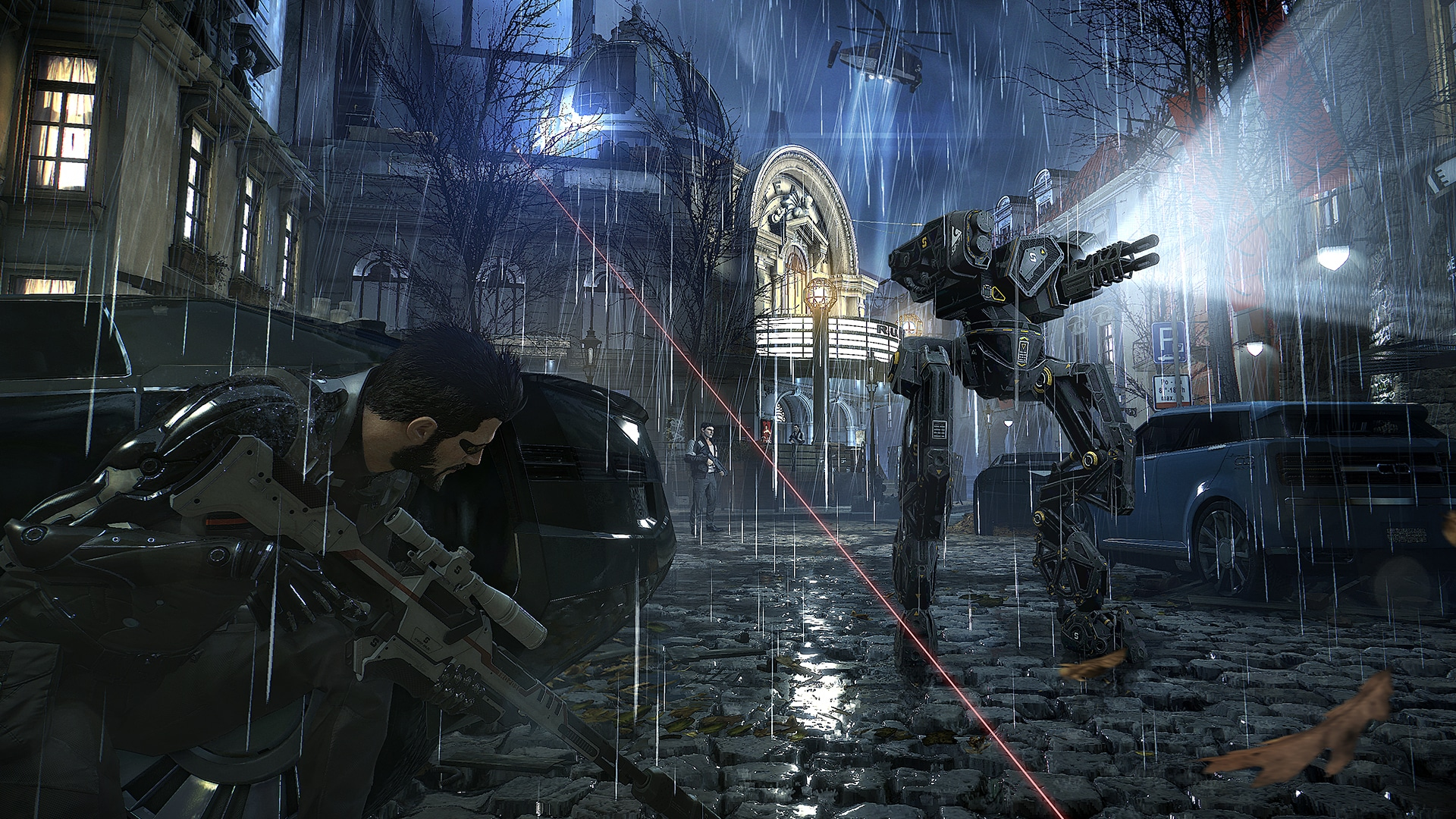 Deus Ex: Mankind Divided Square Enix Eidos Montreal modern day expansion pack of Human Revolution with a lot depth as an immersive sim in Prague