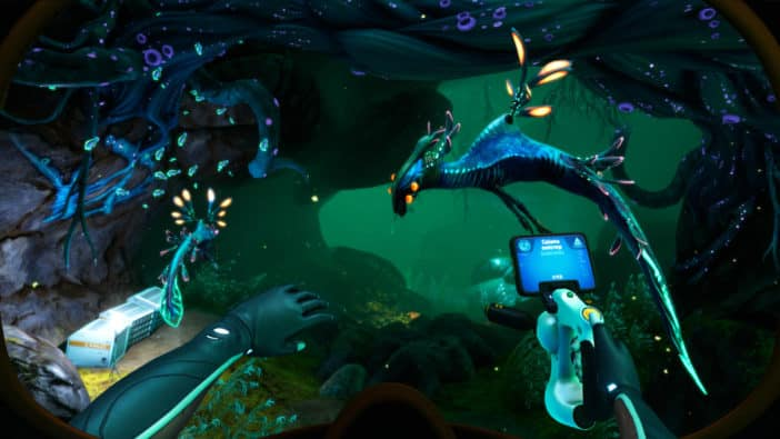 Subnautica: Below Zero Unknown Worlds solves open-world out of bounds problem with fear Leviathan