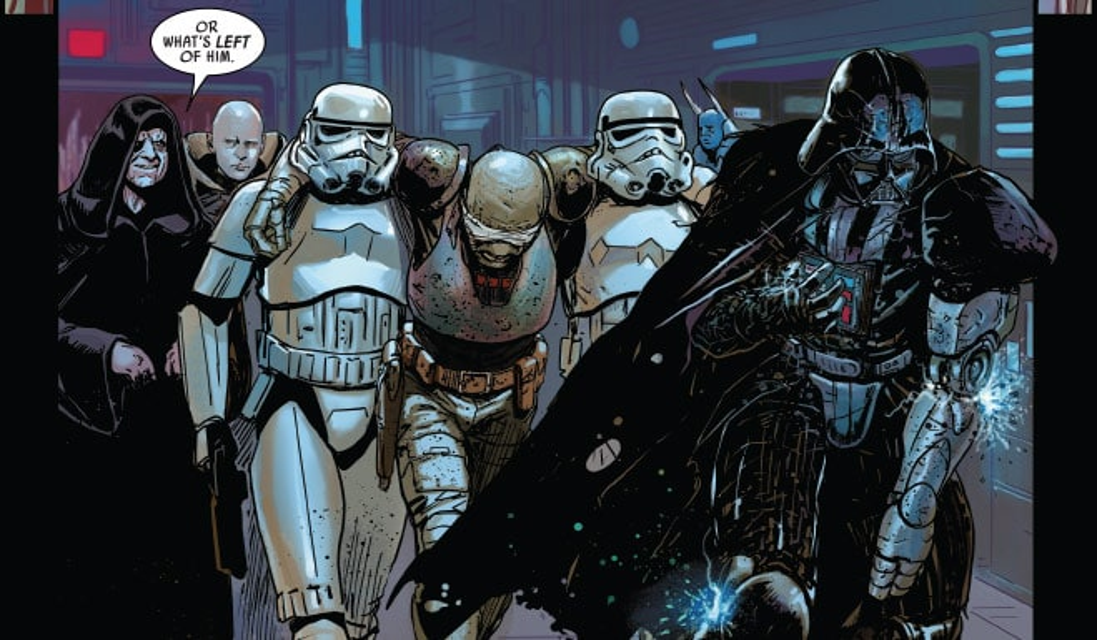 Star Wars: Darth Vader comics comic books fix Star Wars: The Rise of Skywalker plot holes
