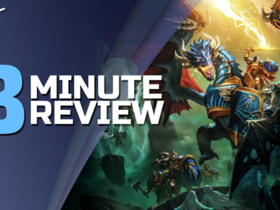 Warhammer Age of Sigmar: Storm Ground Review in 3 Minutes Gasket Games Focus Home Interactive