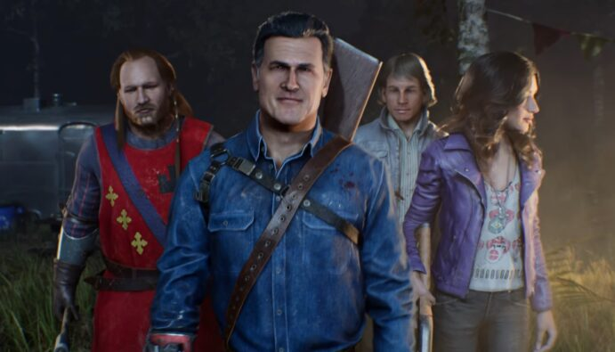 Evil Dead: The Game Gameplay Trailer Playable characters