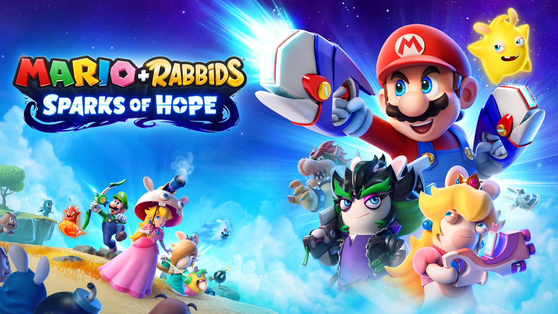 Mario + Rabbids, sparks of hope, E3, ubisoft, leak, nintendo, Kingdom battle, Mario + Rabbids Sparks of Hope