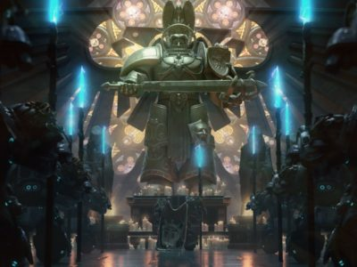 Warhammer 40K, Chaos Gate, Daemonhunters, trailer, Frontier Foundry, Complex Games