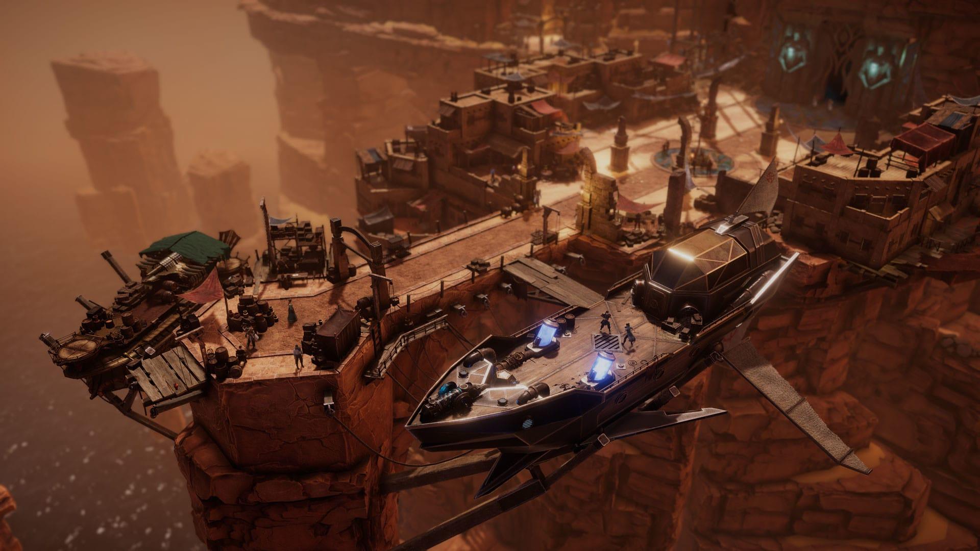 Dark Envoy interview Event Horizon founder Krzysztof Monkiewicz non-linear sci-fantasy RPG release date 2022 PC Xbox One X S PlayStation 4 5