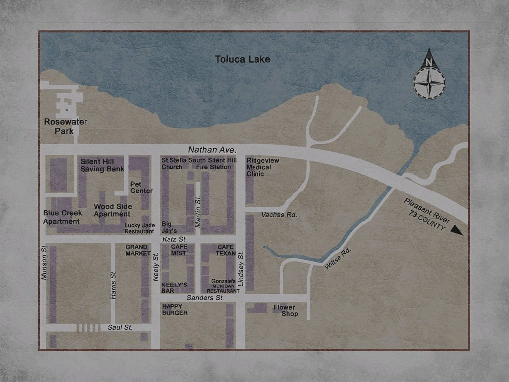 Silent Hill 2 maps lie and you cannot trust them, Konami & Team Silent