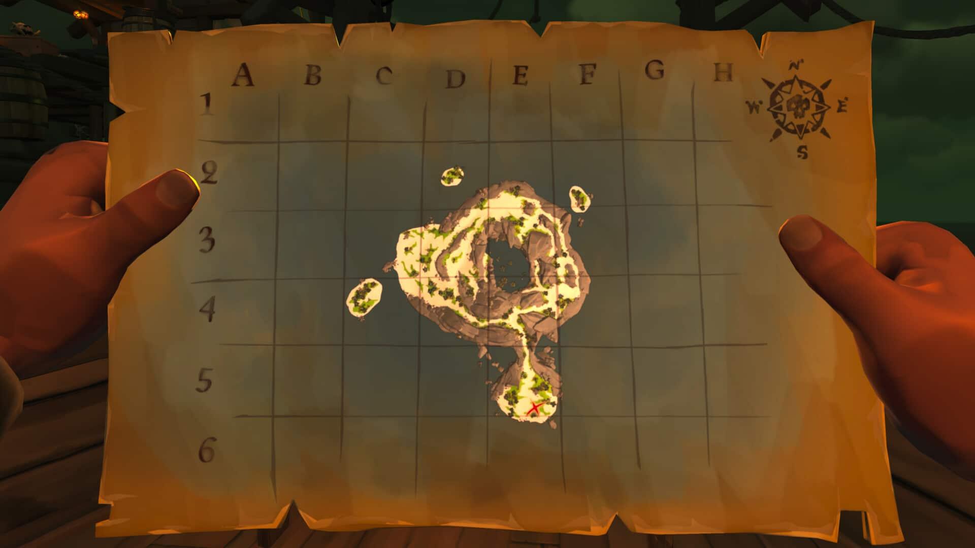 Sea of Thieves maps unique immersive pirate experience Rare
