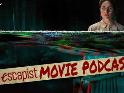 The Escapist Movie Podcast Live, Jack Packard and Darren Mooney discuss Censor (2021) and Amusement Park (1973)