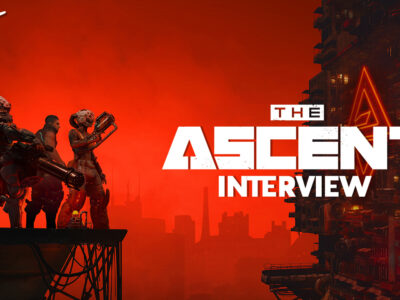 The Ascent interview Arcade Berg Neon Giant
