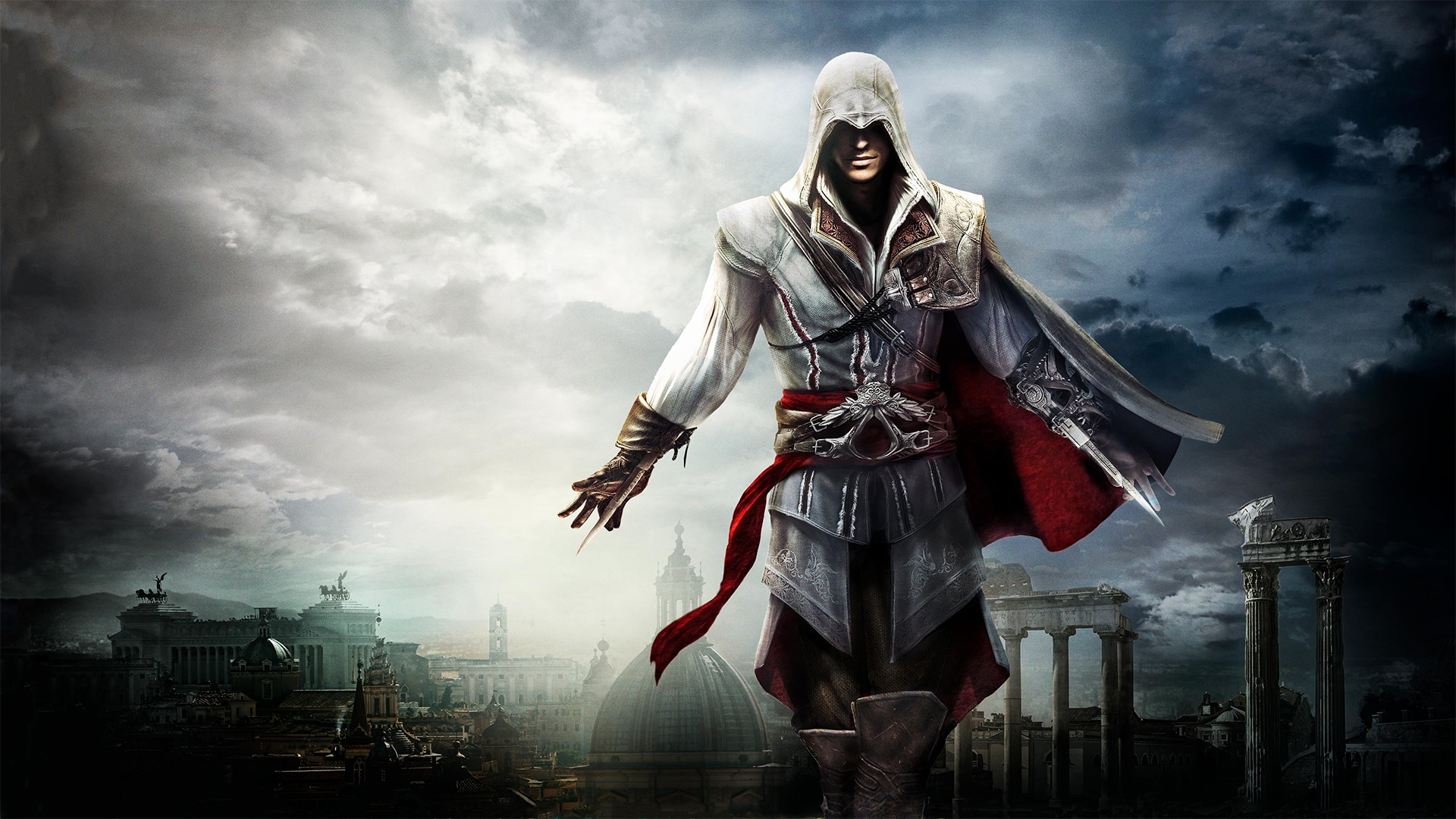 Ezio Assassins Creed Infinity live service is Ubisoft solution to franchise bloat, focus over jobs & sidequests for Assassin's Creed Infinity