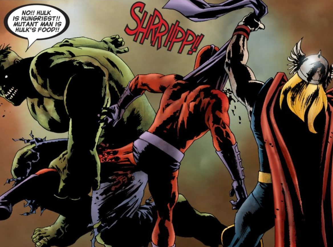 Hulk Magneto Thor real Robert Kirkman Marvel Zombies will likely not appear in Marvel Cinematic Universe animated series for Disney+ What If...?