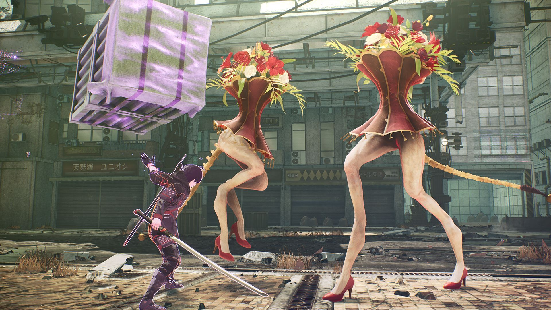 Scarlet Nexus Silent Hill 2 sexual sexualized iconography visuals villain bodies