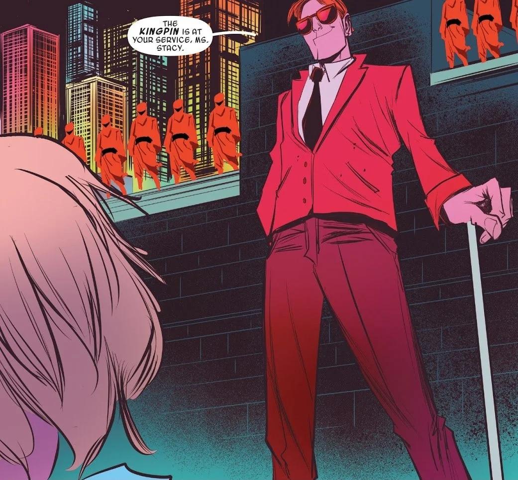 Matt Murdock Spider-Gwen Earth-65 Gwen Stacy change growth and development in the Marvel Comics universe
