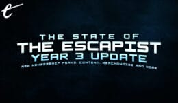 year 3 update The Escapist Channel Update - New Content, Merchandise, Membership Perks & More