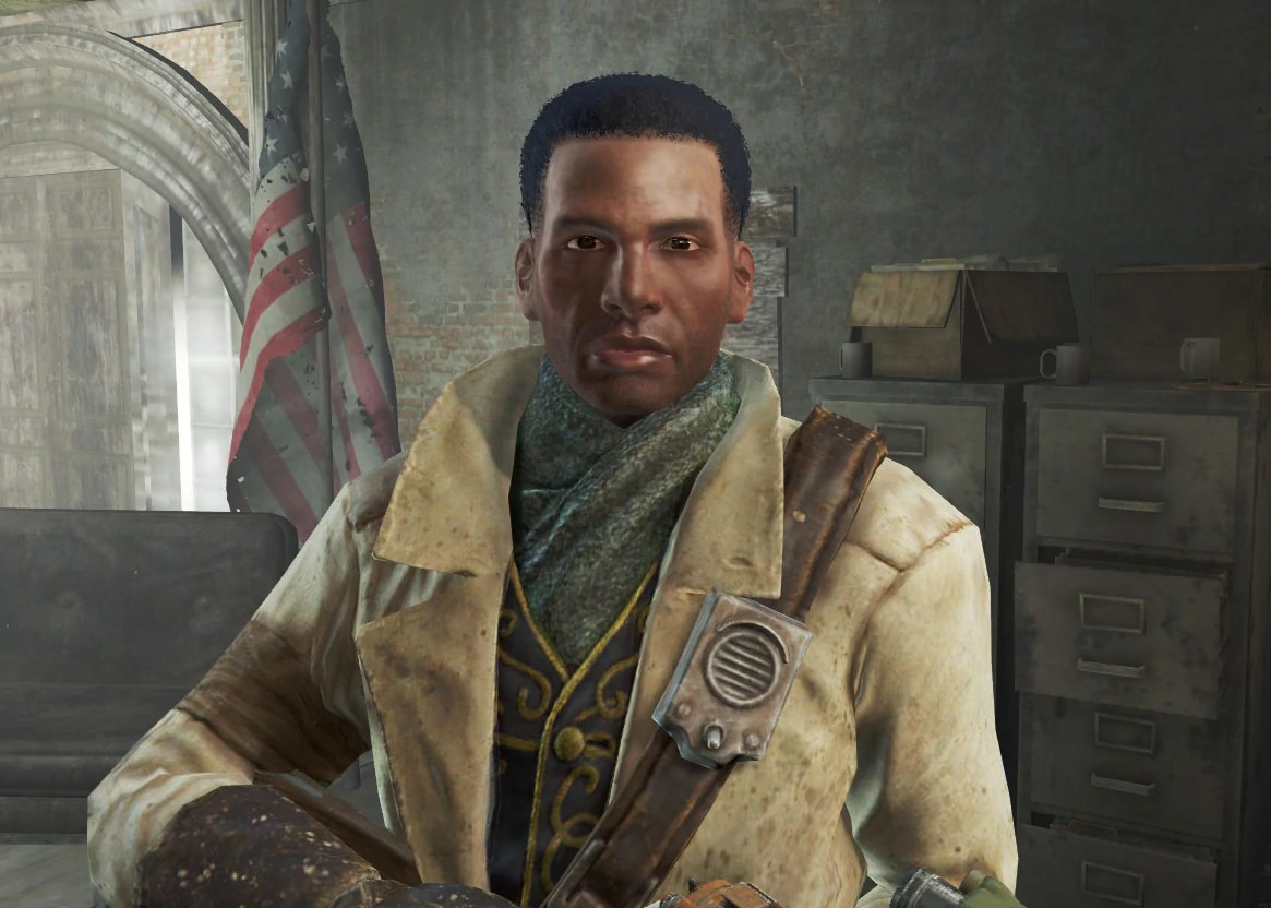 Fallout 4 skip interrupt NPC dialogue with angry disgruntled snarky remarks