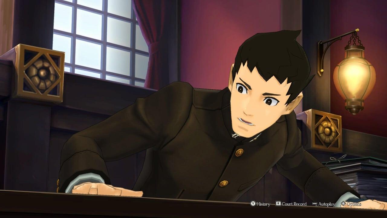 Great Ace Attorney Chronicles slam desk sound effect character arc story resolution for Ryu Ryunosuke Naruhodo