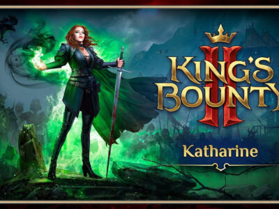 Katharine the mage snide haughty sarcastic personality makes you love her and generic medieval fantasy of Kings Bounty 2 II King's