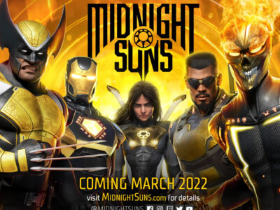 PS4 PS5 Xbox One Series X Marvel Midnight Suns Firaxis Games 2K March 2022 release date Nintendo Switch Marvel's Midnight Suns