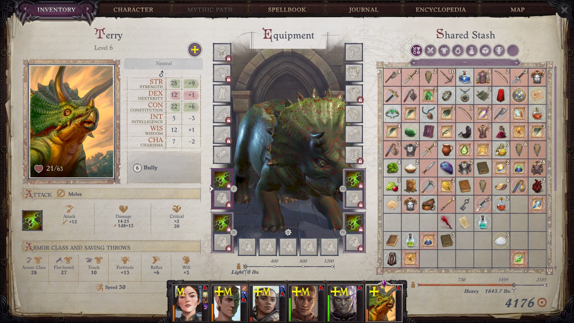 Riding a Triceratops in Pathfinder: Wrath of the Righteous Is Everything I Thought It Would Be Owlcat Games preview