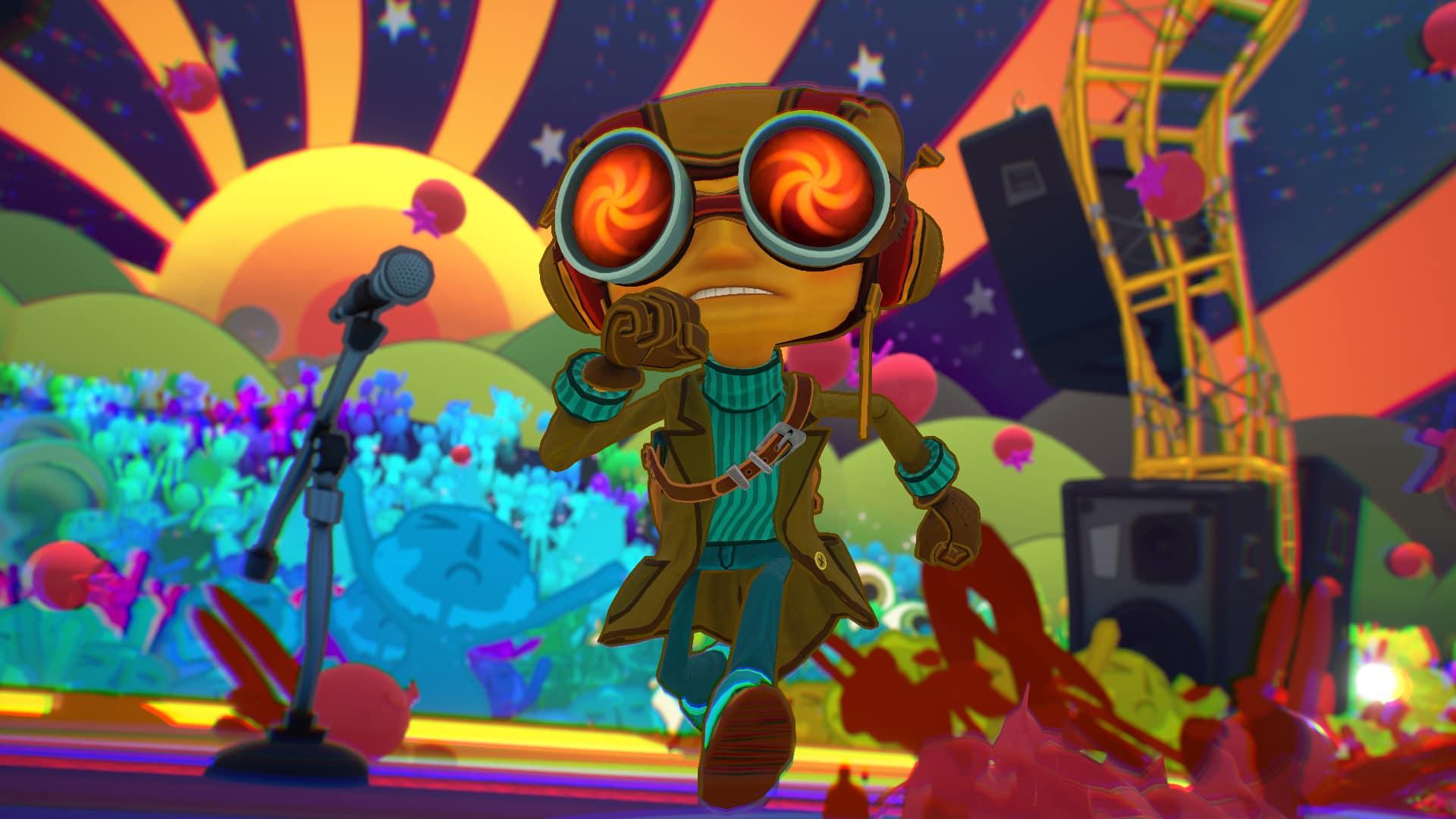 Psychonauts 2 Double Fine Productions Psi-King Sensorium masterwork masterpiece game design new narrative Psi-King's