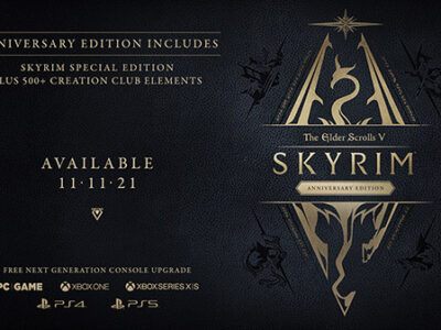 At QuakeCon 2021, Bethesda announced The Elder Scrolls V: Skyrim Anniversary Edition for PC, PlayStation 4, PlayStation 5, Xbox One, and Xbox Series X | S