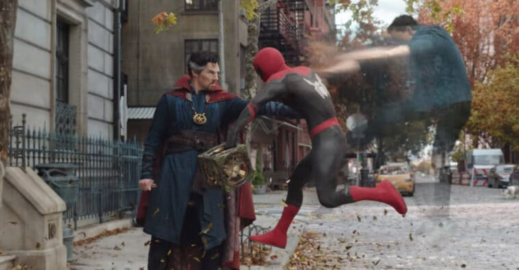 Spider-Man: No Way Home trailer Doctor Octopus Alfred Molina Dr Strange Benedict Cumberpatch