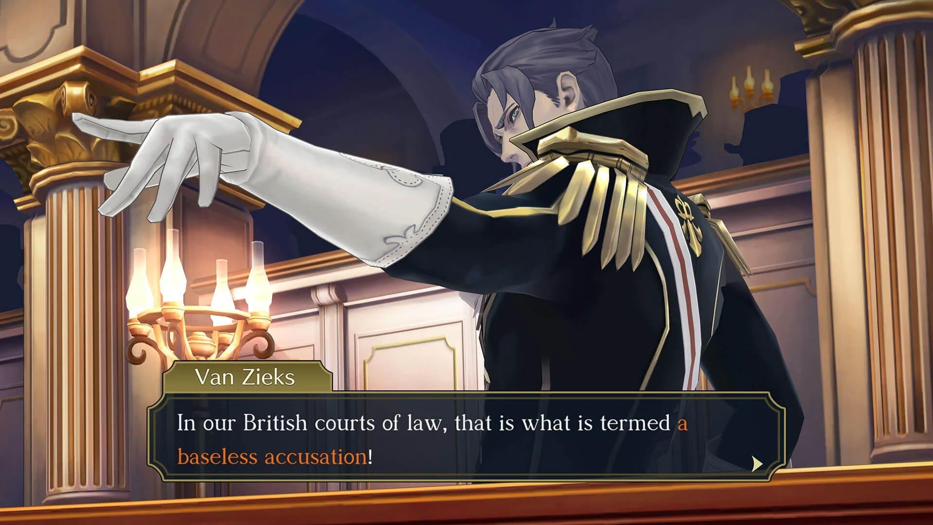 van Zieks The Great Ace Attorney Chronicles Victorian England age-appropriate racism against Japan and Japanese