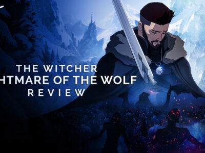 the witcher: nightmare of the wolf review netflix darren mooney animated prequel film