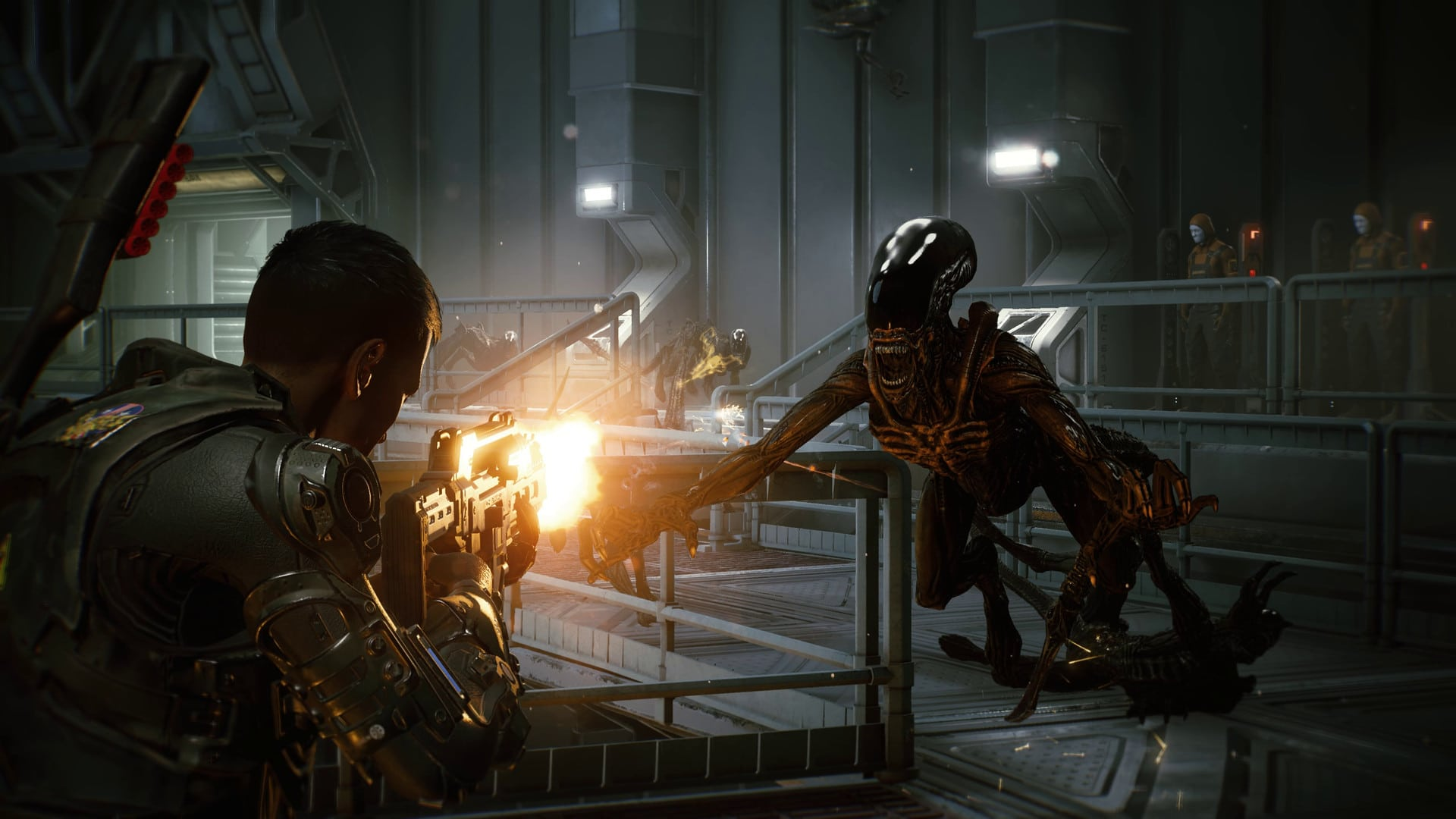 video game Aliens: Fireteam Elite is the best IP / franchise lore expansion for a multimedia universe imaginable unlike Star Wars