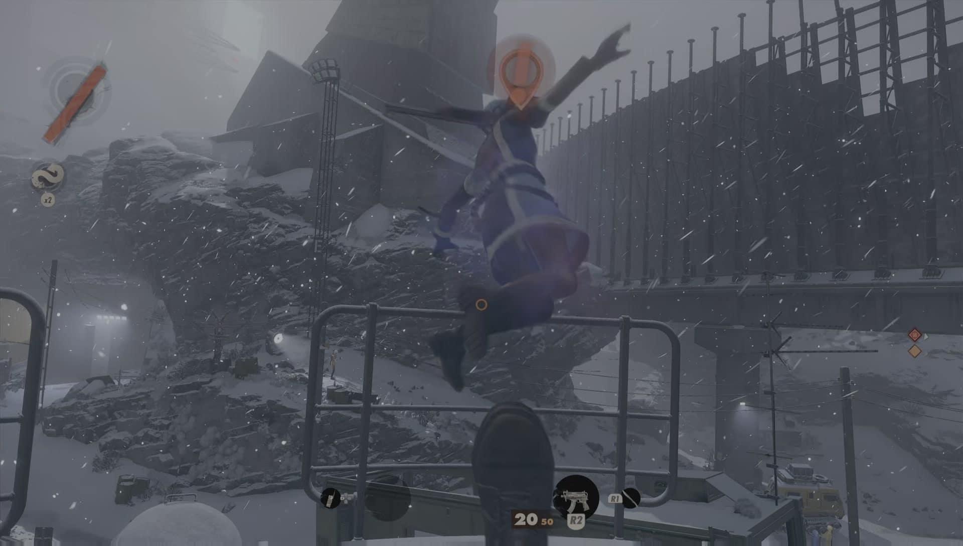 Arkane Lyon Studios Deathloop kick boot is extremely fun and satisfying big boot