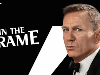 No Time to Die is about Daniel Craig performing the role of James Bond in a meta context of film movies theater