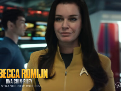 Star Trek: Strange New Worlds cast characters video revealed announced CBS All Access