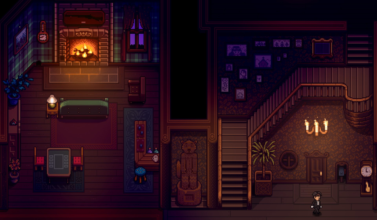 Stardew Valley, universe, Haunted Chocolatier spooky new game, PC, trailer, announcement, reveal, pixel, ConcernedApe, Eric Bone