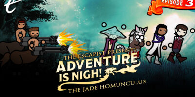 Adventure Is Nigh The Jade Homunculus episode 3 Artificial Monsters and Natural 1s Jack Packard DM D&D Dungeons and Dragons Yahtzee Croshaw Escapist campaign