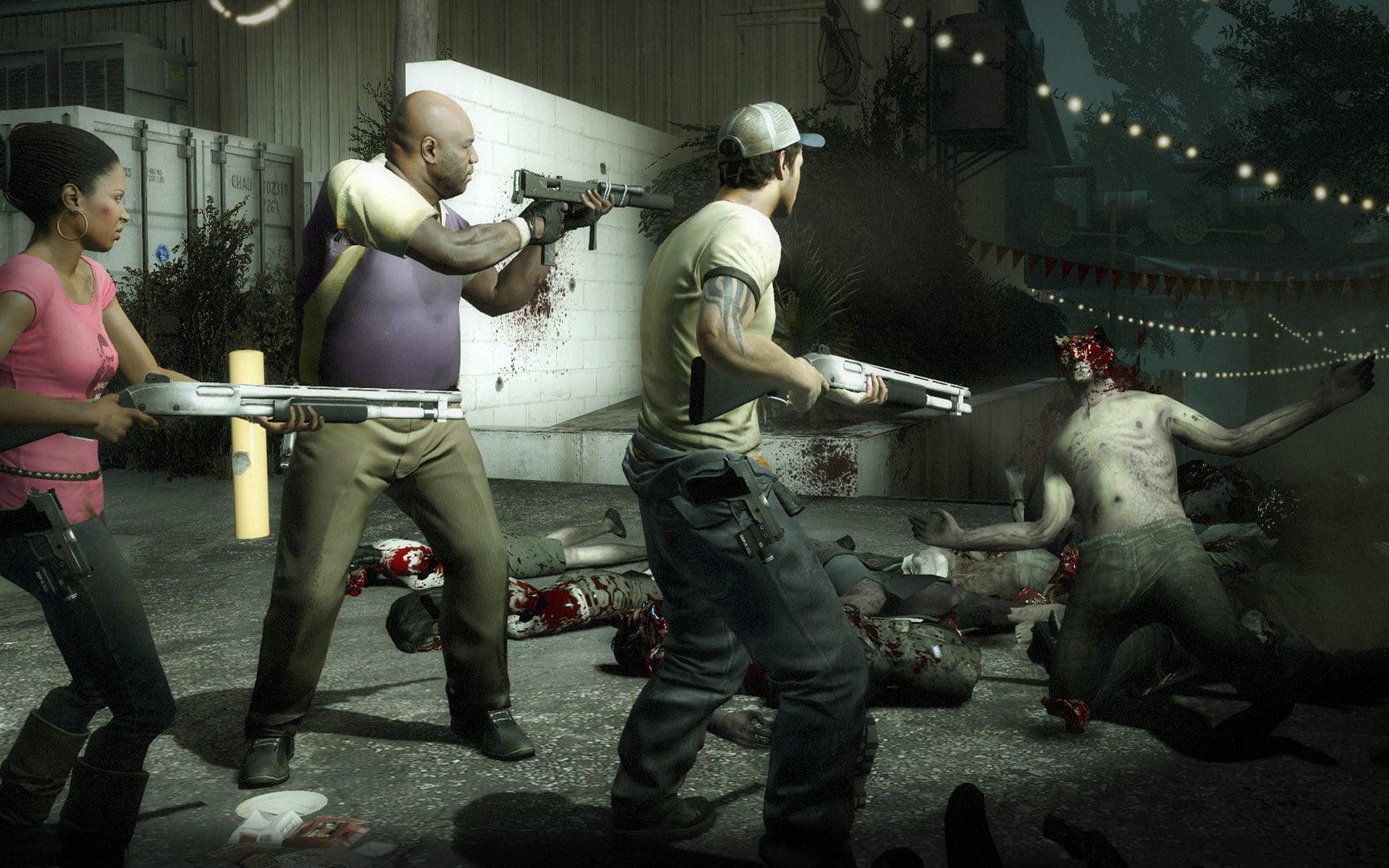 Back 4 Blood Turtle Rock Studios Left 4 Dead twist zombie carrier doom via The Sacrifice comic
