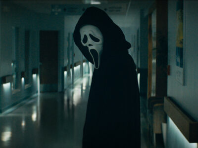Scream 5, a reboot and sequel both, gets its first trailer with a new Ghostface killer and Neve Campbell, Courteney Cox, and David Arquette.